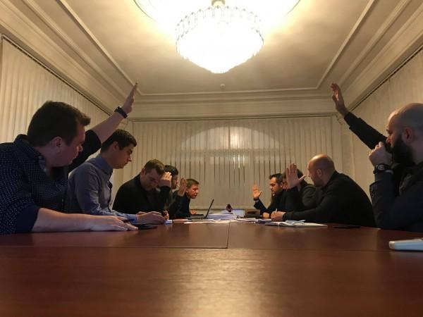 Засідання РГК щодо конфлікту між детективом НАБУ і адвокатом Самарець (26.10.2017)