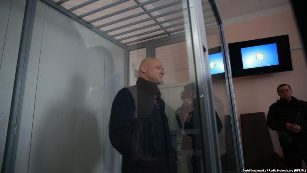 Труханова затримали, судили і звільнили на поруки під акомпанемент протестів і сутичок